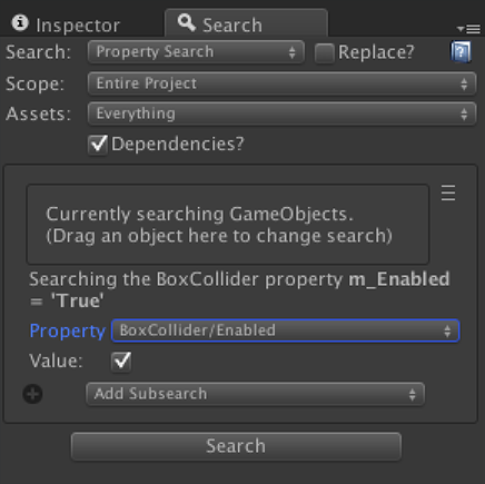 Unity Search And Replace